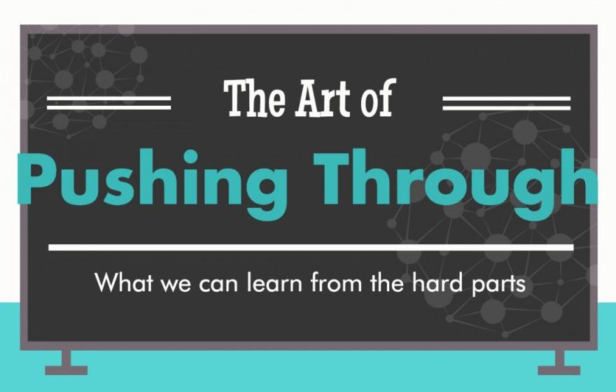 Pushing Through-Erin Burrell