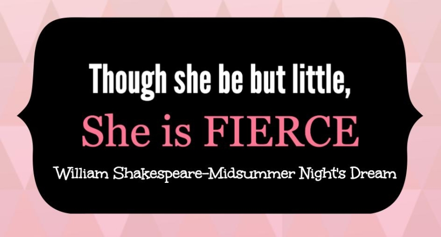 Shakespeare quote-Erin Burrell